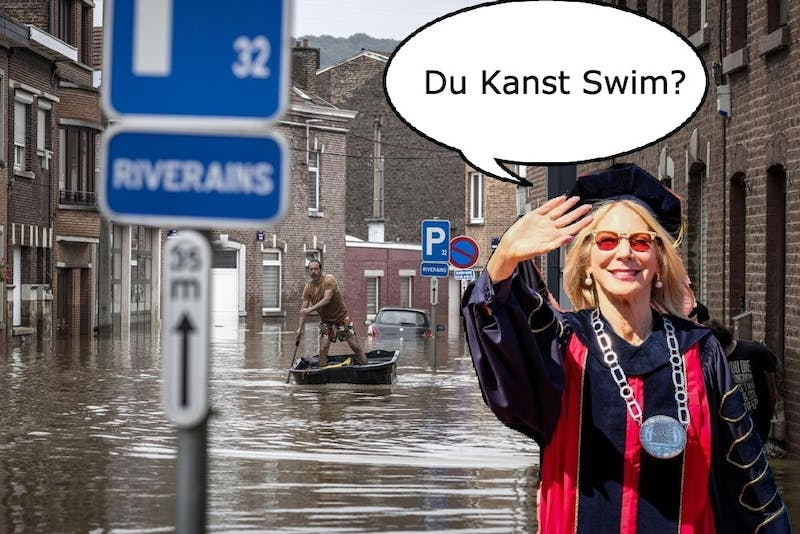 Uh-Oh! Flooding in Germany Suddenly Gutmann's Problem
