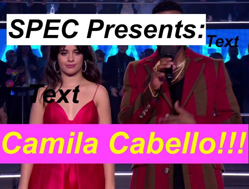 Frank Ocean to Headline Spring Fling — Just Kidding, It's Camila Cabello :(