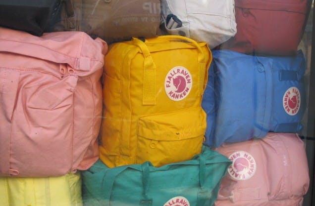 Fjallraven Kanken Backpack | Boundary Waters Catalog