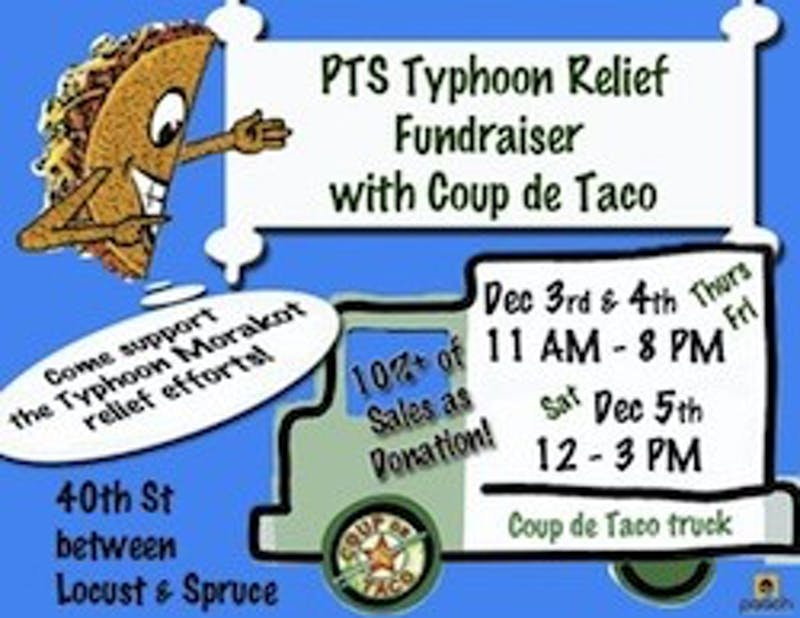 Tacos For Typhoon Relief