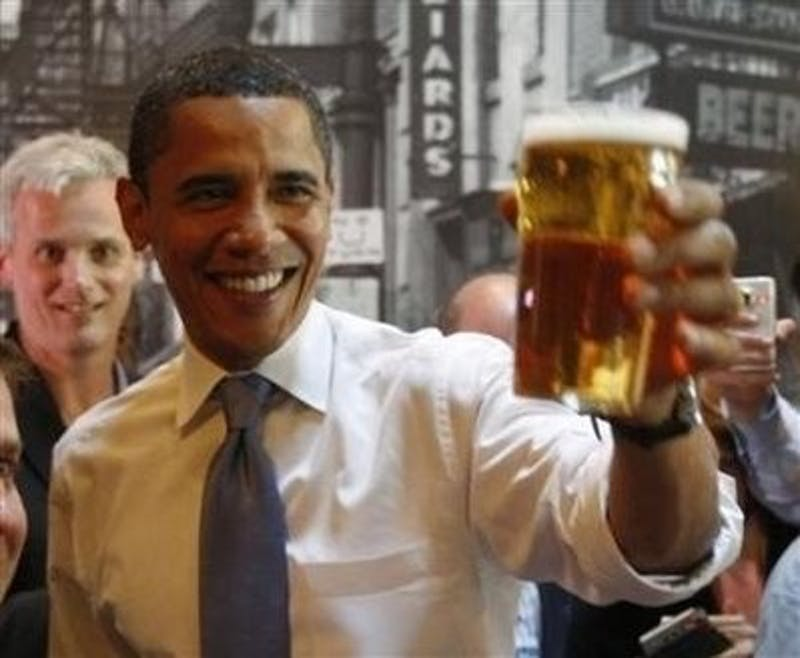 Beer-ack Obama, Coming Soon To A Bar Near You