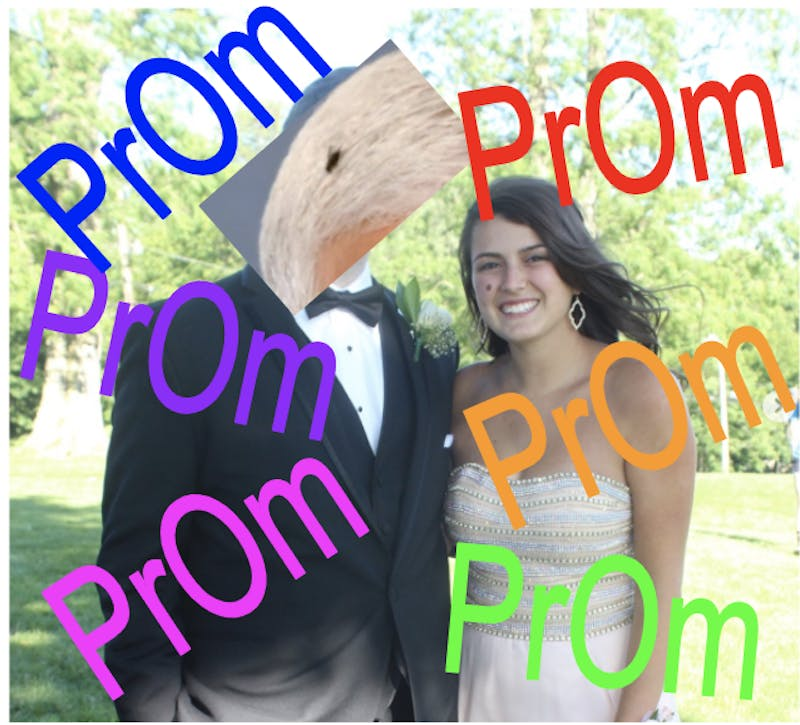 Mike Pence's Head Fly, Will You Go to Prom With Me?