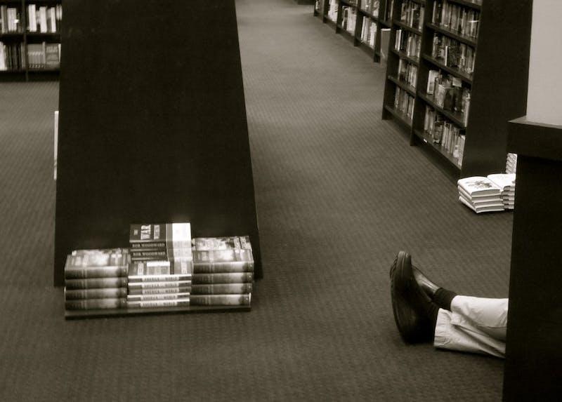 ShutterButton: Book Feet