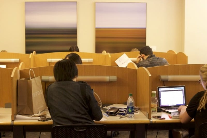 Shocking: That Guy Who Saved His Spot in Study Carrel With a Pile of Books Has Been Abroad All Semester