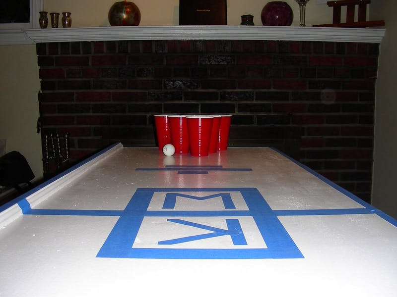 Frat Pong Table Wonders Where Everyone Went