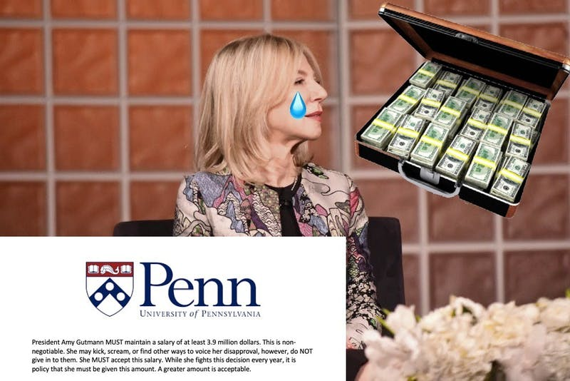 Sad! Gutmann Unable to Take Pay Cut Due to University Policy