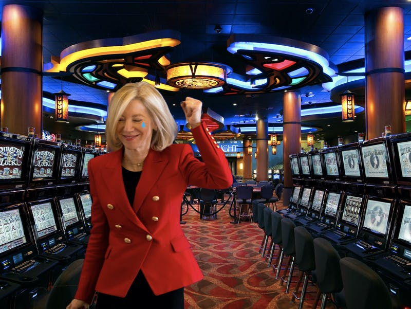 Gutmann Blows Through Endowment During Feb Club Atlantic City Trip