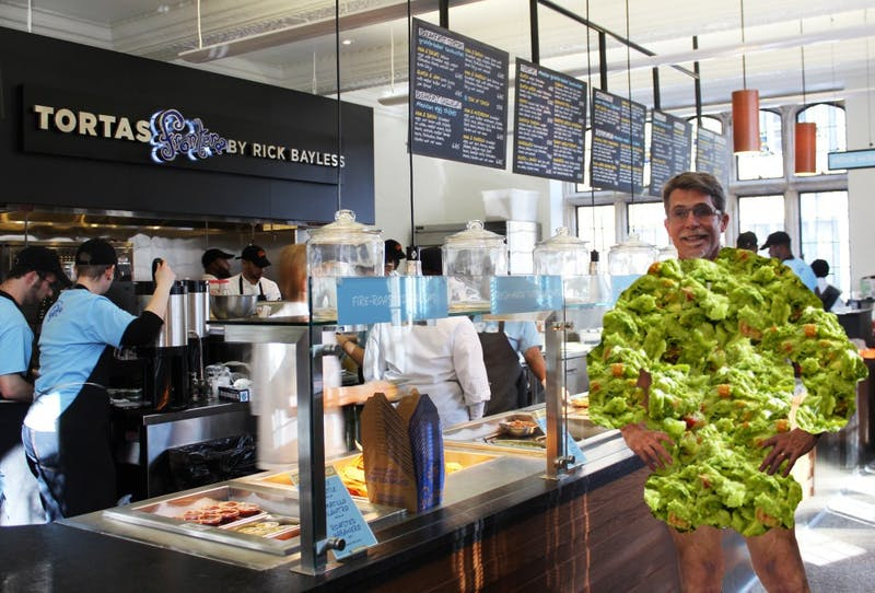 UPennAlert: Chef Rick Bayless Is Running Around Frontera Naked Slathered In Guacamole Again
