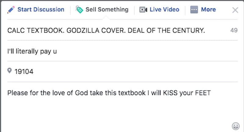 OP-ED: Please for the Love of God, Buy My Godzilla-Cover Calc Textbook