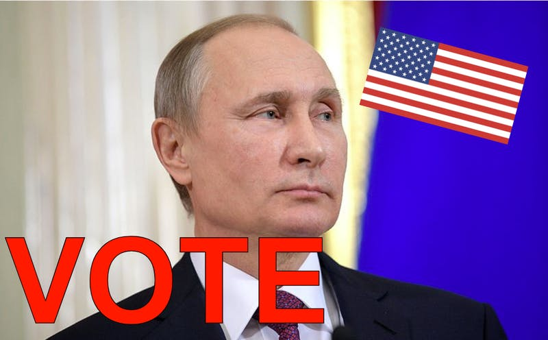 How Putin Will Vote By Mail in US Election