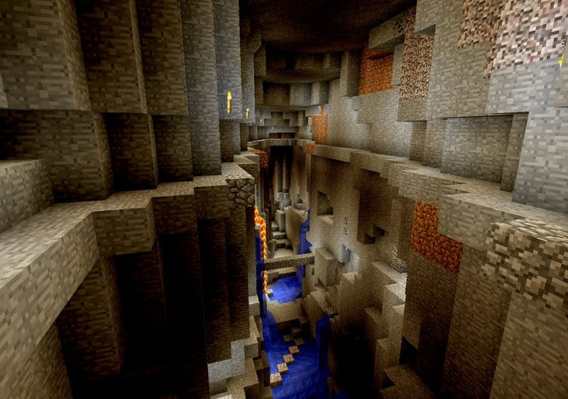 Group of Penn Geologists Discover Massive Underground Cave System in Minecraft