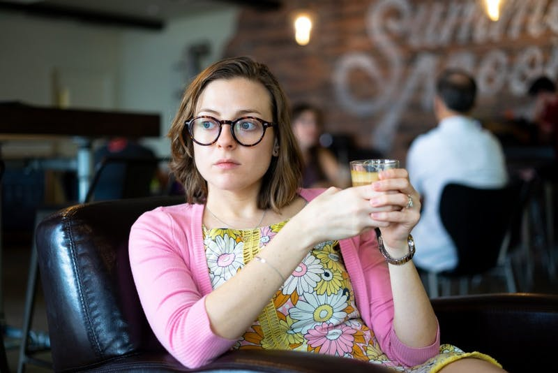 Student Excited to See If Coffee Will Cause Euphoria or Anxiety Attack