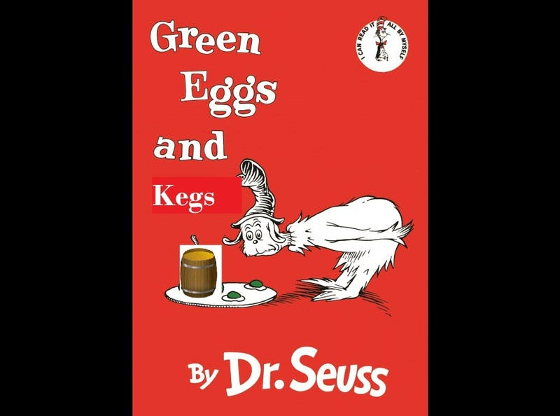 Frat Brother Arrested for Copyright Infringement After Hosting Green Eggs and Kegs