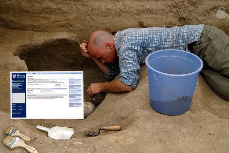 PennInTouch Found Among Ancient Artifacts During Mayan Excavation