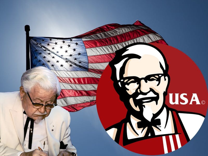 Editorial | Under The Button Endorses Colonel Sanders for President