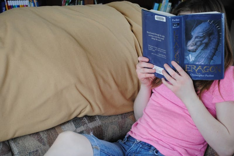 Student Excited to Spend Reading Days Getting Into a Good Book in for a Rude Awakening