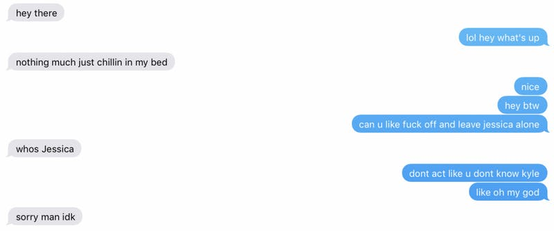 Shocking! Girl Who Begins Every Text With Lowercase Letter Is Actually Not Chill at All