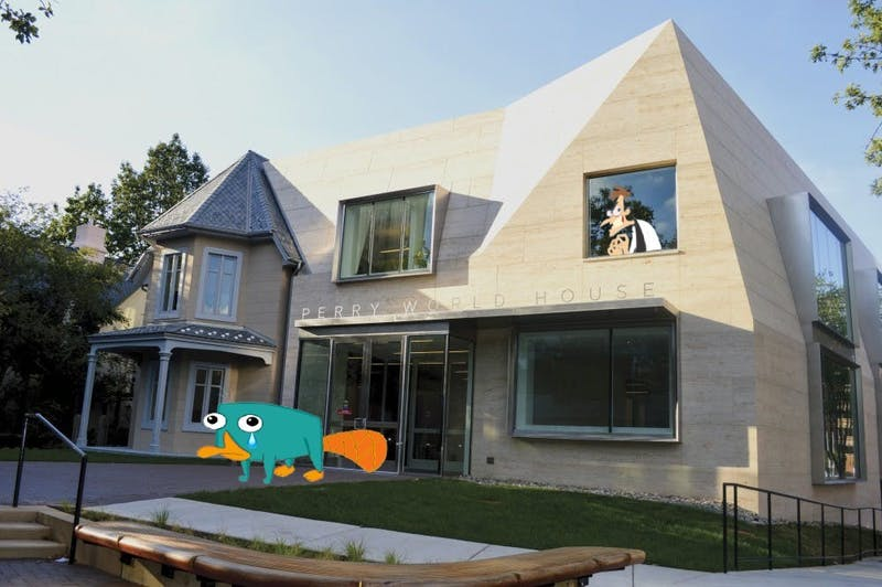 Sad: Perry the Platypus Kicked Out of His World House