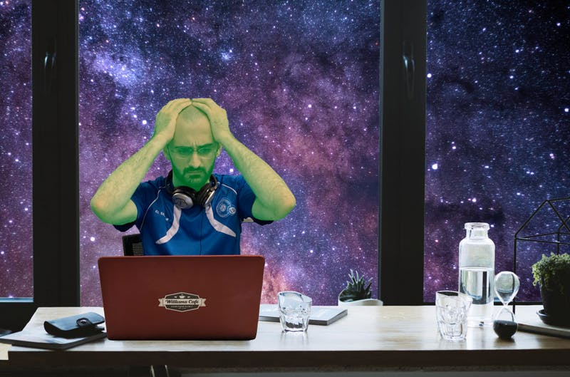 Unpaid Alien Intern Who Runs Our Simulation Starting to Get Worried