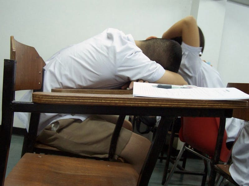 OP-ED: If My Professor Didn't Want Me to Fall Asleep, Then Why'd He Turn off All the Lights?