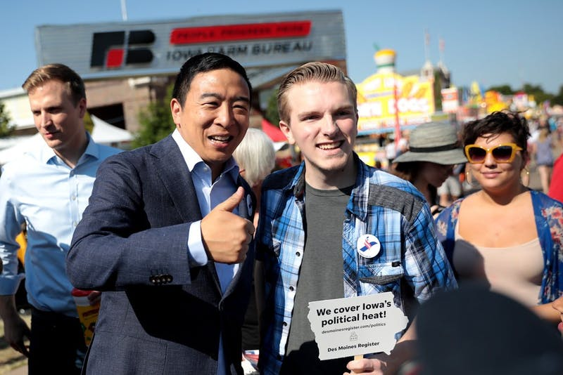 BREAKING: Andrew Yang Secures Huge Endorsement From Guy in My Poli Sci Lecture