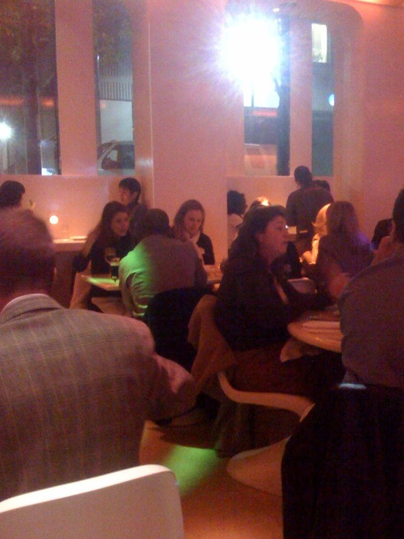 Debra Messing Is At Pod