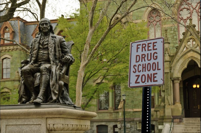 "Incoming Freshman Disappointed to Learn Penn is not a ""Free Drug Zone"" and That He Cannot Read"