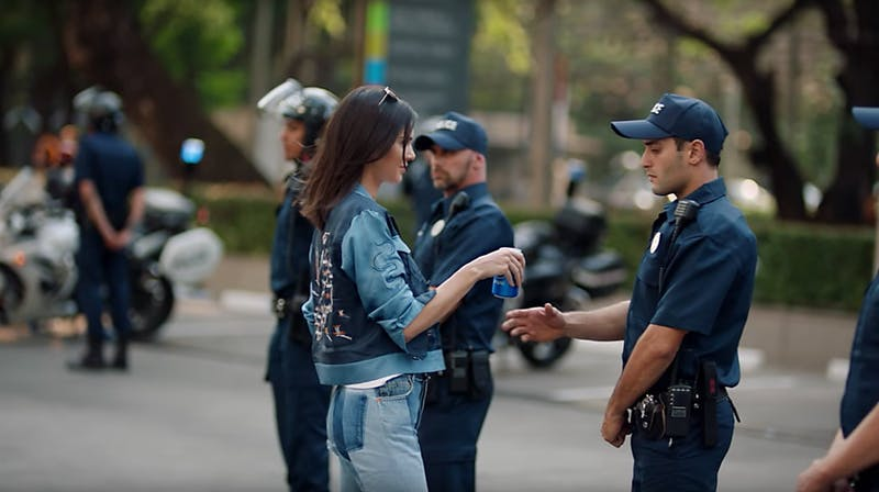 Where's Kendall Jenner's Pepsi When We Need It?