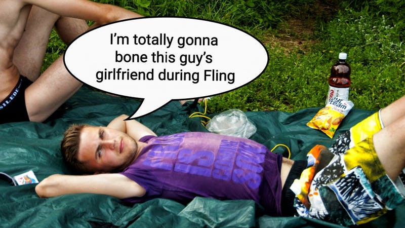 Choose Your Own Adventure: Will Brad Fuck Your Girlfriend at Fling?