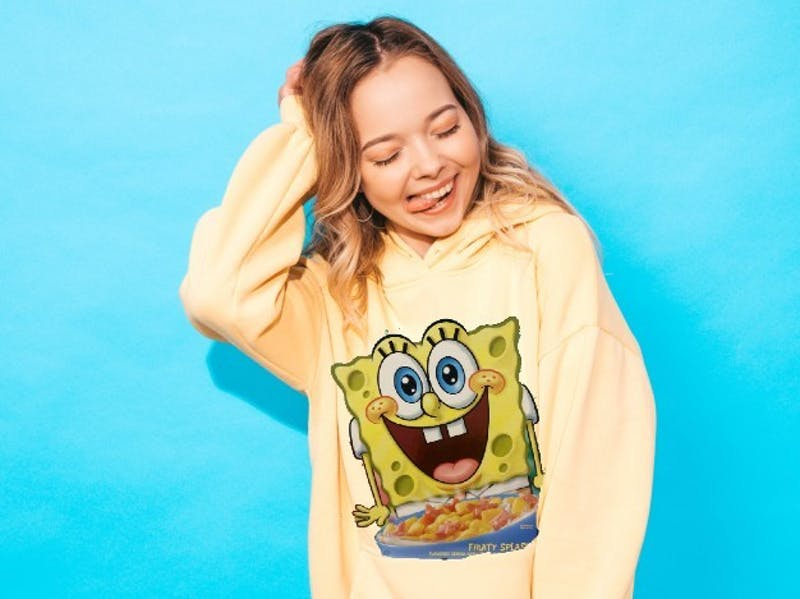 """It's Almost Fall ;)"" Announces Girl With Extensive Spongebob Sweater Collection"