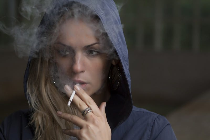 Courage Personified: This Foreign Girl Smokes All Over Penn's Tobacco-Free Campus