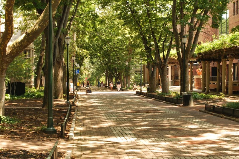 Locust Walk Now Locust Run