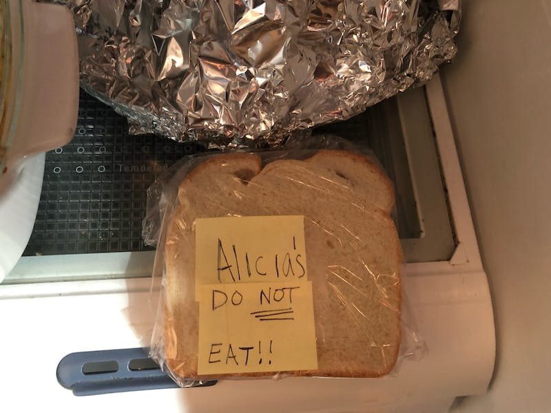 """Sister """"Soooo Sorry"""" for Eating Sandwich That You Specifically and Clearly Labelled"""