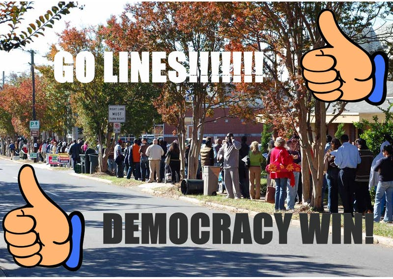 8-hour Voting Lines Are Actually Vital For a Well-Functioning American Democracy