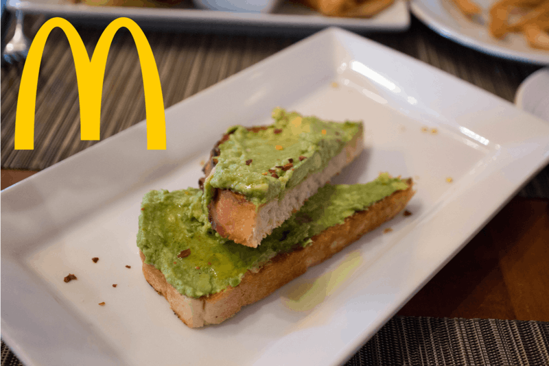 McAvocado Toast Last Nail in Gentrification Coffin