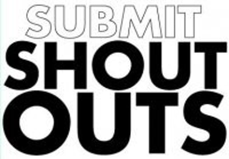 I Shout You Shout We All Shout For Shoutouts