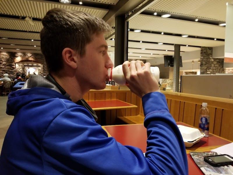 Psycho or Genius? Tyler Drank Milk   Under the Button