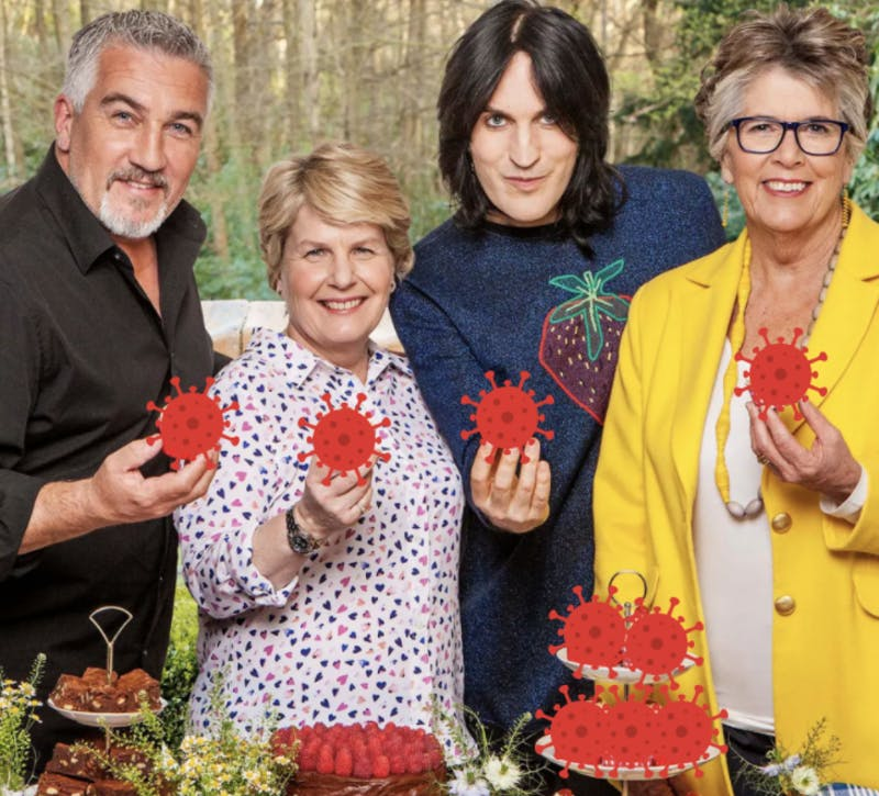 CDC Reports B.1.1.7 Variant Transmitted Through The Great British Bake Off