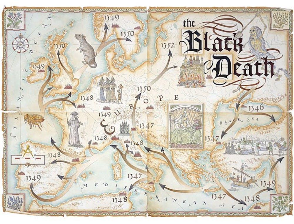 black-death-bubonic-plague-map