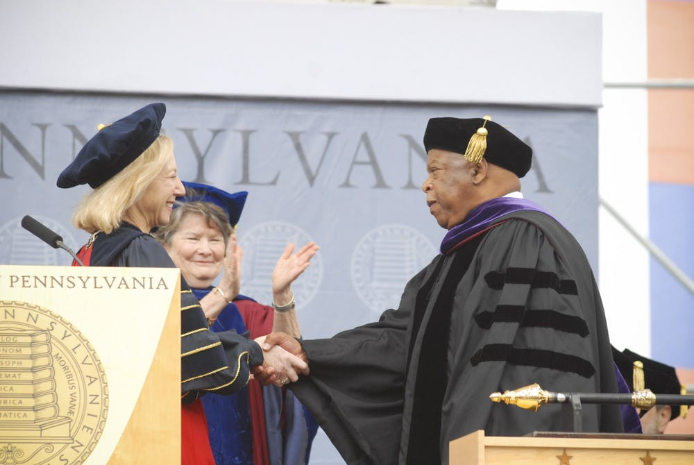john-lewis-and-amy-gutmann-2012-commencement