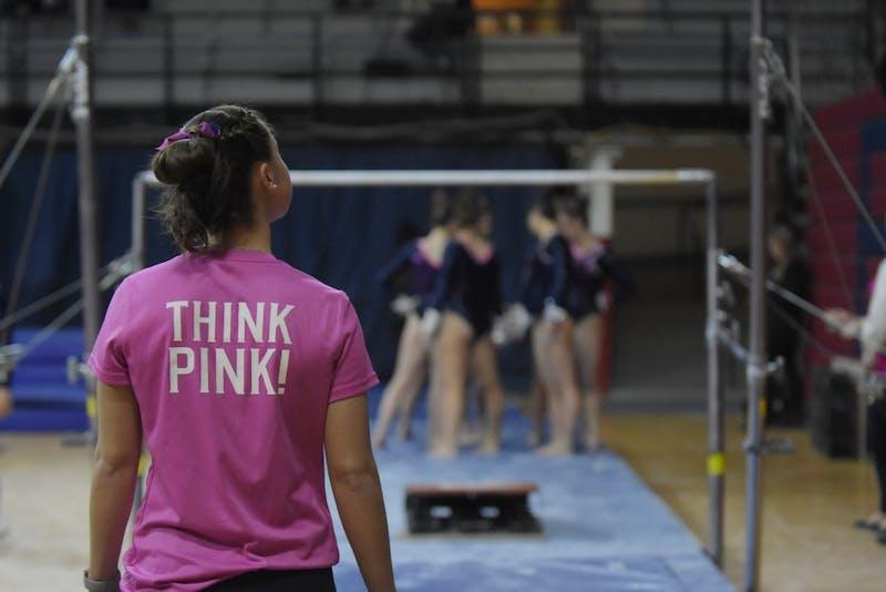 Gymnastics Pink Meet