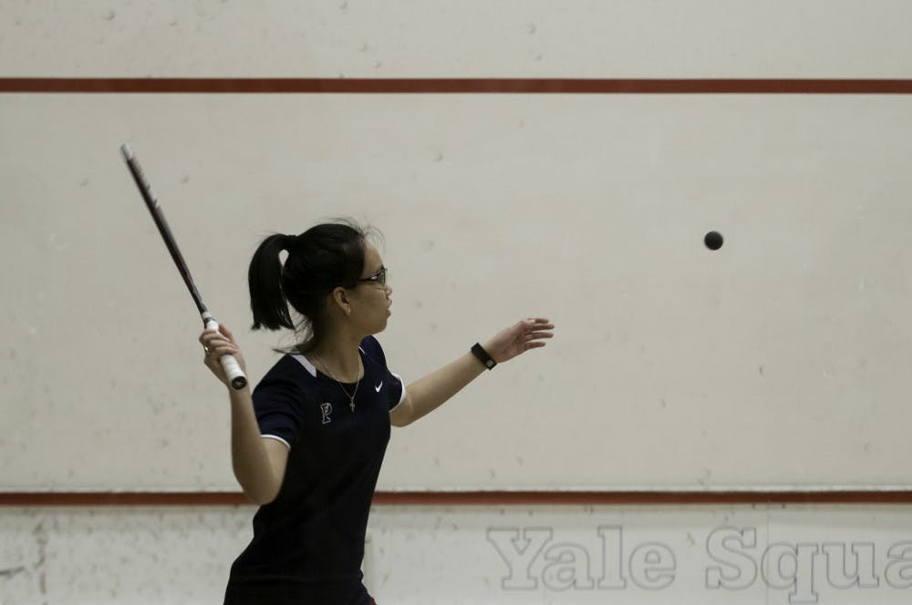 In her final regular season match for Penn women's squash, senior Michelle Wong extended her personal win streak to eight heading into the CSA National Championships.