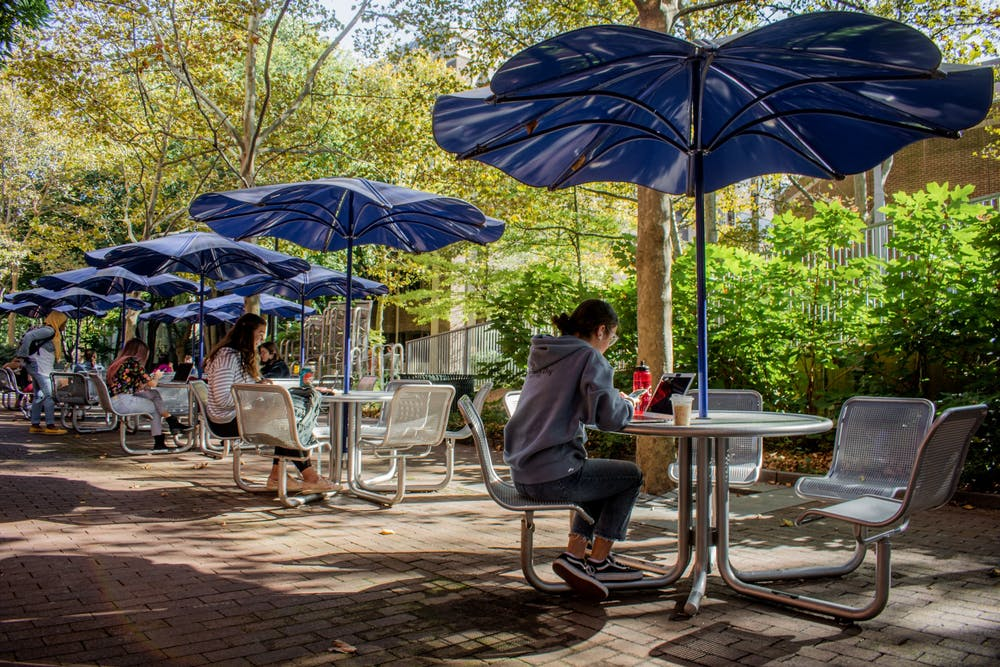Photo Essay | Tired of working at home? Check out these 15 outdoor study spots on campus.