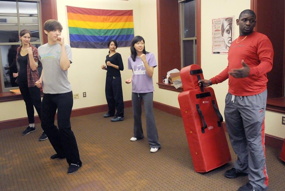 Penn Women's Center Defense Training