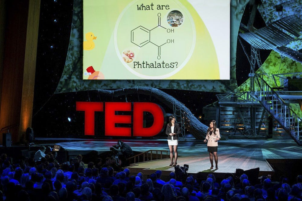 College senior Miranda Wang and her friend Jeanny Yao at the University of Toronto have launched a successful environmental startup | Courtesy of Ian Lindsay/PNG