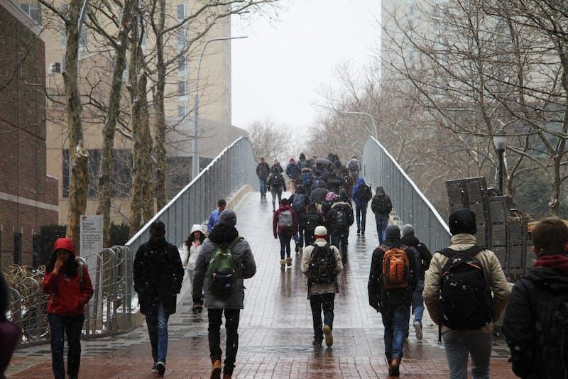 A Recap in Photos: Snowfall at Penn
