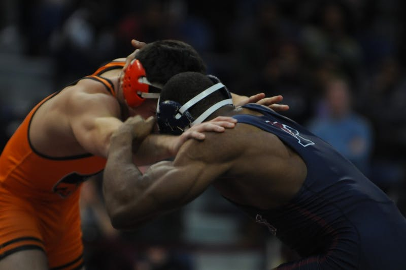 Photo Gallery | Wrestling vs. Princeton