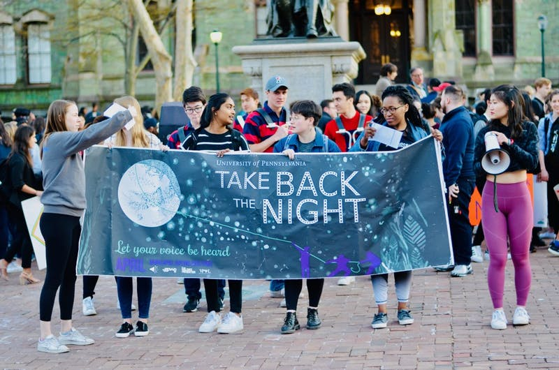 Photo Essay | Penn fights against sexual violence at Take Back the Night