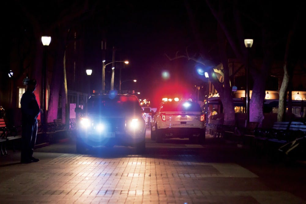 police-cars-locust-walk