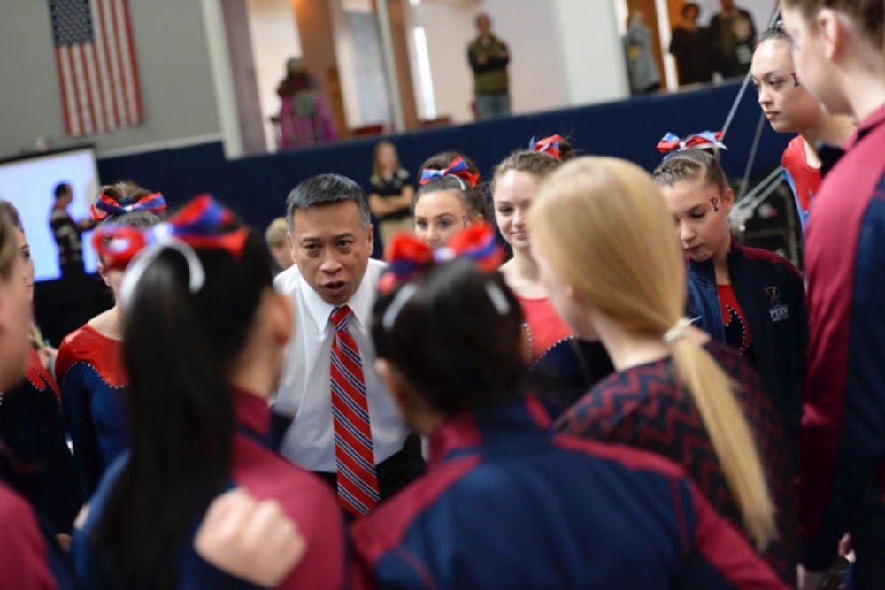 Penn gymnastics coach John Ceralde will need strong contributions from his freshmen in the 2016-17 season.